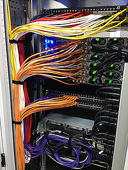 Amsterdam - Rack - Fully cabled back image