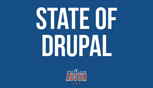 State of Drupal - Austin DrupalCon - Slide Capture 2-wide