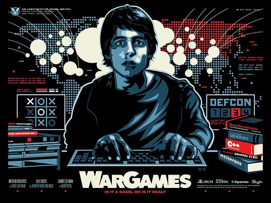 WarGames Movie Poster